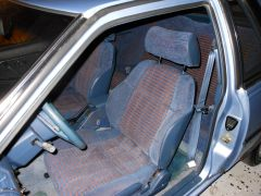 Seats look and feel like new