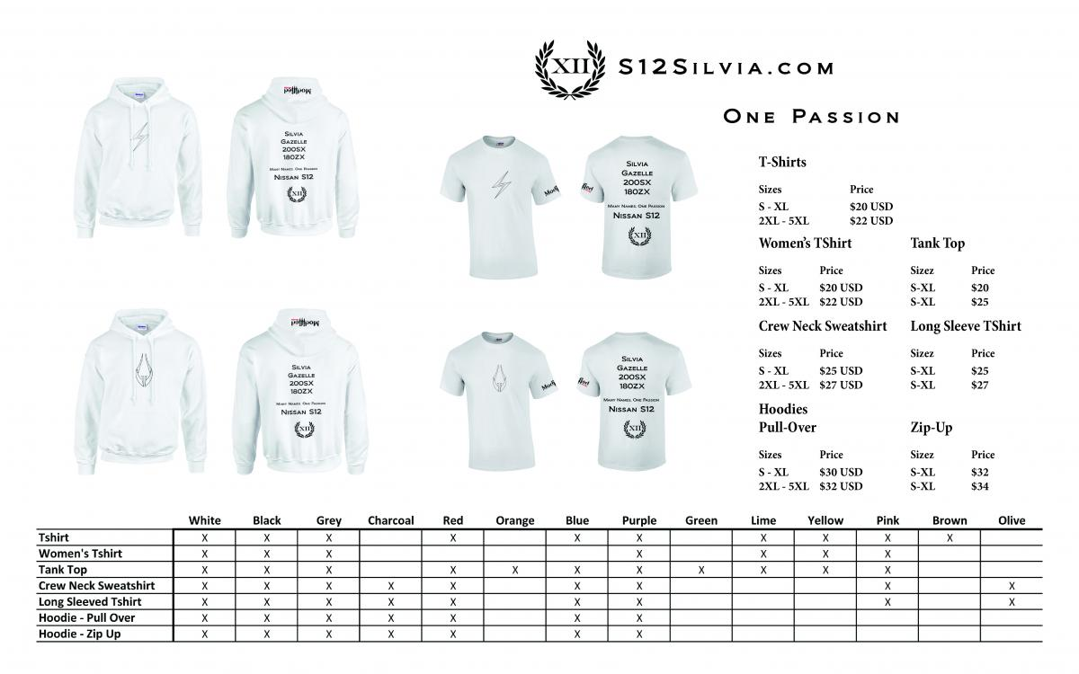 Attached Image: One Passion Advert Shirts.jpg